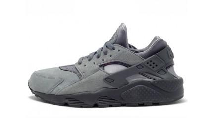 Huarache КРОССОВКИ МУЖСКИЕ<br/> NIKE AIR HUARACHE SUEDE UPPER GRAY
