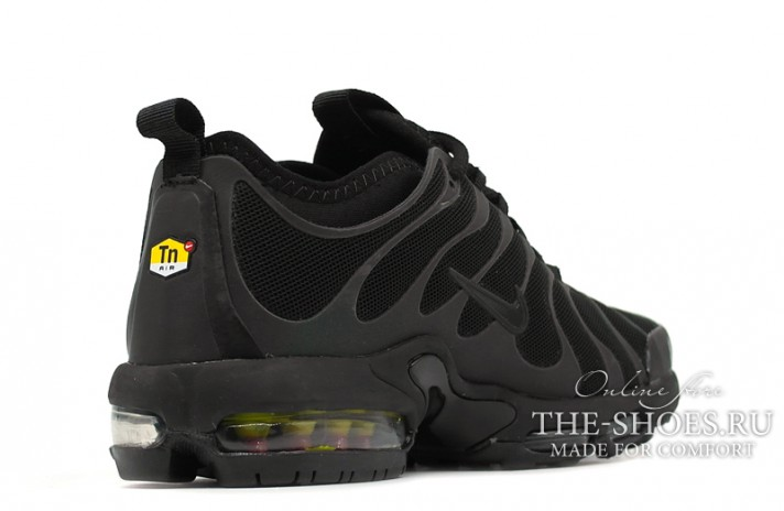 Nike Air Max TN Plus Ultra Black anthracite черные, фото 3