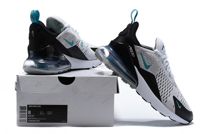 Nike Air Max 270 Teal White Dusty Cactus белые, фото 6