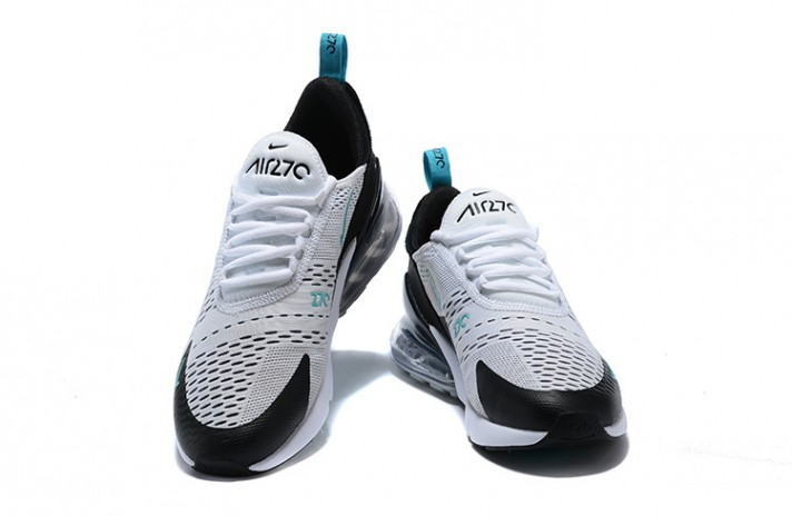 Nike Air Max 270 Teal White Dusty Cactus белые, фото 4
