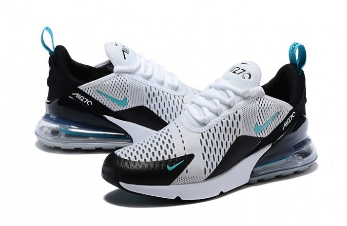 Nike Air Max 270 Teal White Dusty Cactus белые, фото 2