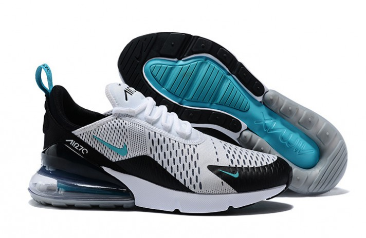 Nike Air Max 270 Teal White Dusty Cactus белые, фото 3