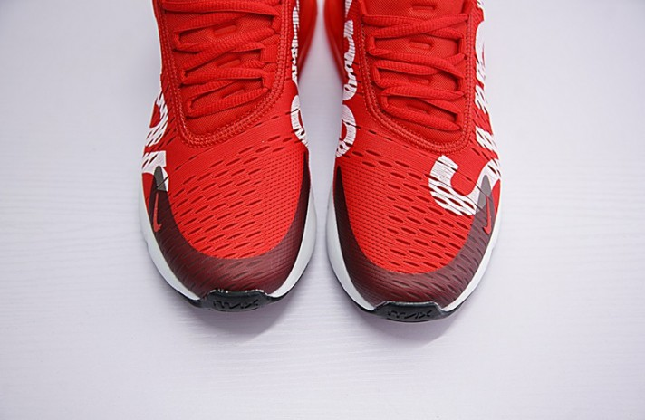Nike Air Max 270 Supreme Red красные, фото 5