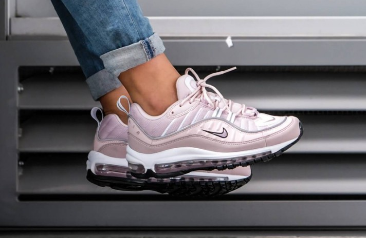 Nike Air Max 98 Barely Rose Elemental розовые, фото 9