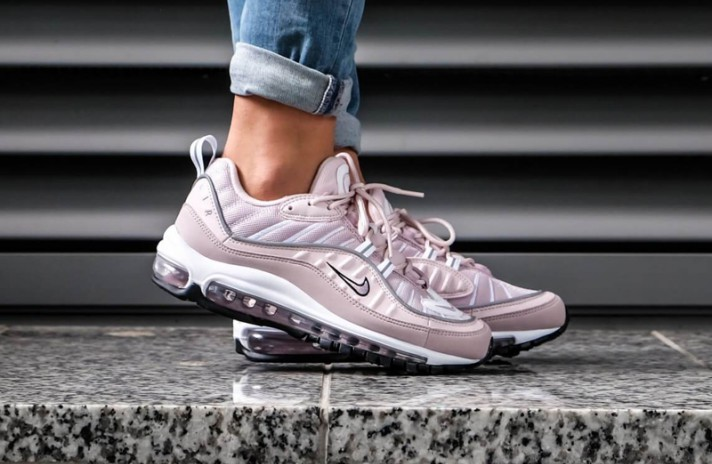 Nike Air Max 98 Barely Rose Elemental розовые, фото 6