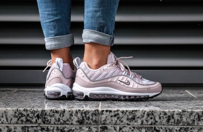 Nike Air Max 98 Barely Rose Elemental розовые, фото 5