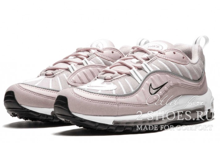 Nike Air Max 98 Barely Rose Elemental розовые, фото 2