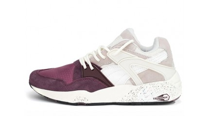 Puma Trinomic Blaze Winter Tech Wine Tasting Vaporous Gray