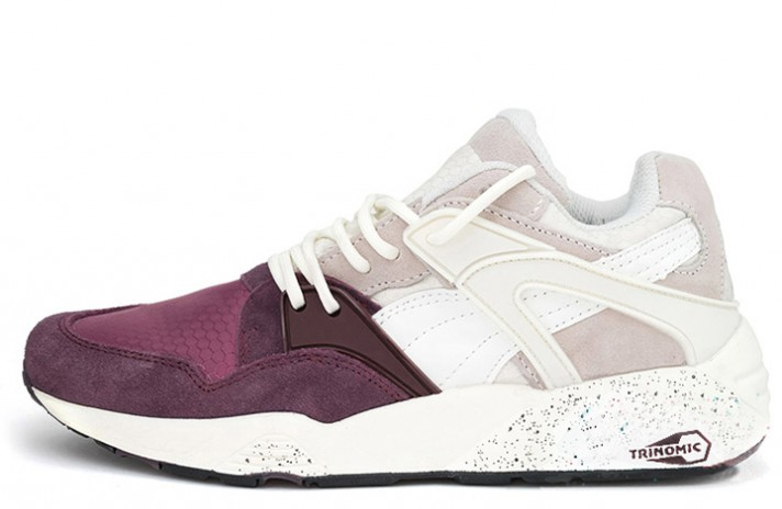 Кроссовки Puma Trinomic Blaze Winter Tech Wine Tasting Vaporous Gray