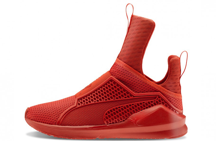 Купить Puma Fenty Trainer by Rihanna University Red - красные 71b90c935ff