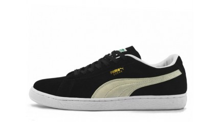 Puma Suede Black White