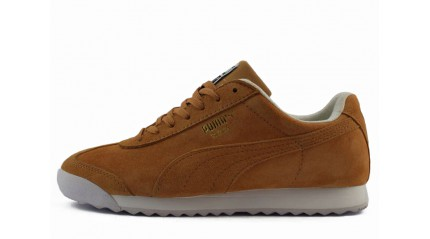 Puma Roma Basic Nubuck Biscuit Yellow