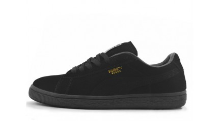 Puma Suede Black Full
