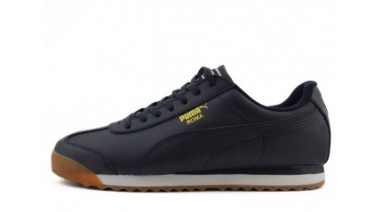 Puma Roma Basic Peacoat Gum Leather