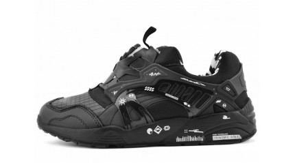 Trinomic КРОССОВКИ МУЖСКИЕ<br/> PUMA TRIMONIC DISC BLAZE X GRAPHERS BLACK