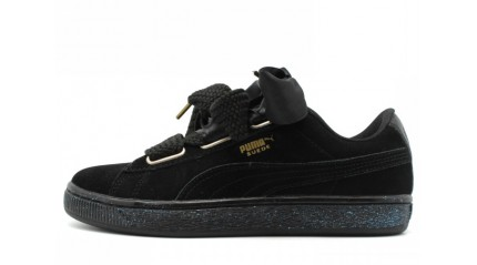 Puma Suede Heart Black
