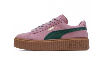 Кроссовки женские Puma Creeper by Rihanna Pink Green
