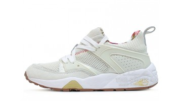 Кроссовки женские Puma Trinomic Blaze Careaux White