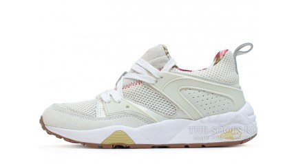 Puma Trinomic Blaze of Glory x Careaux x Whisper White