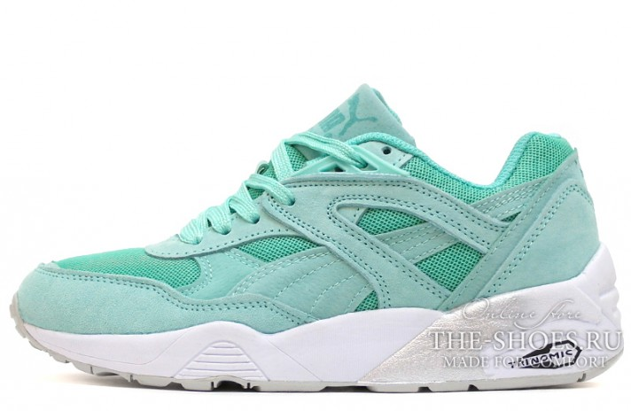 Кроссовки Puma Trinomic R698 mint bright wool menthol