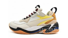 Puma Thunder Spectra White Yellow Black белые