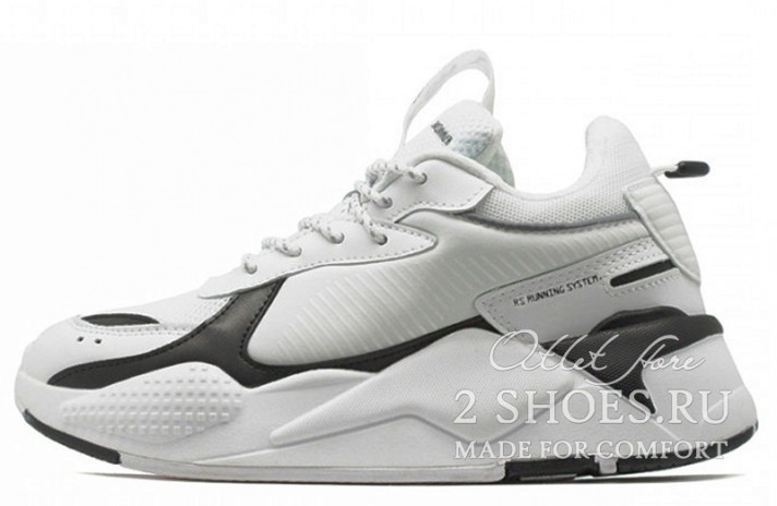 Кроссовки Puma RS-X Core White Black