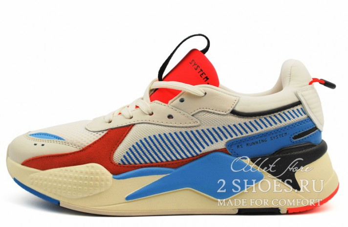Кроссовки Puma RS-X Reinvention Whisper Red Blast