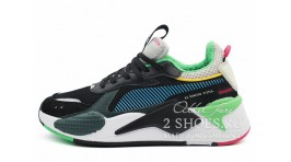 Puma RS-X Toys Black Blue Atoll черные