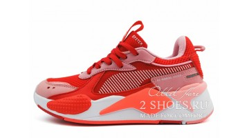 Кроссовки женские Puma RS-X Toys Bright Peach High Risk Red