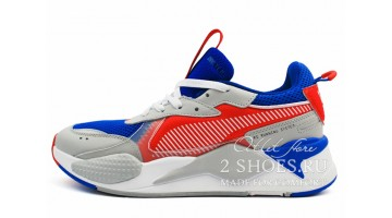 Кроссовки мужские Puma RS-X Toys Optimus Prime Dazzling Blue