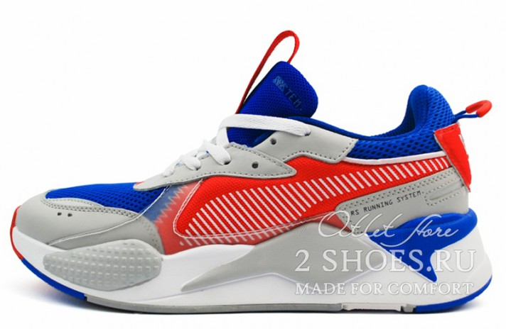 Кроссовки Puma RS-X Toys Optimus Prime Dazzling Blue
