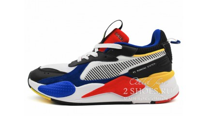 Puma RS-X Toys White Royal High Risk Red