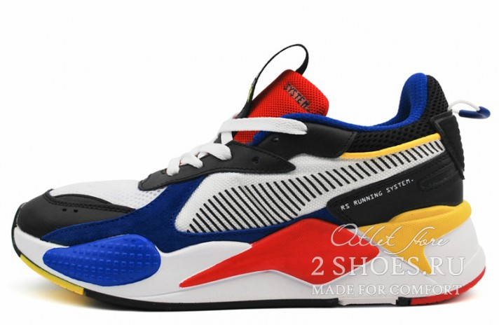 Puma RS-X Toys White Royal High Risk Red разноцветные, фото 1