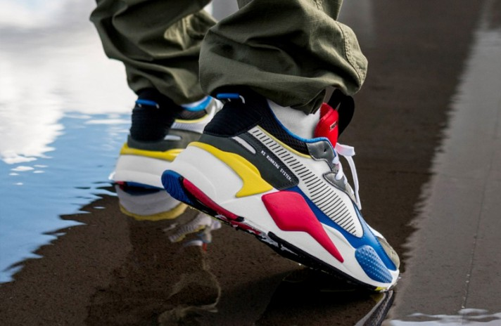Puma RS-X Toys White Royal High Risk Red разноцветные, фото 6