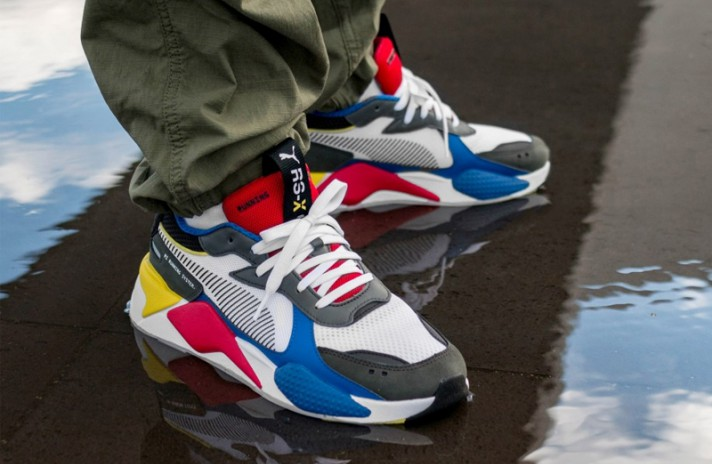 Puma RS-X Toys White Royal High Risk Red разноцветные, фото 5