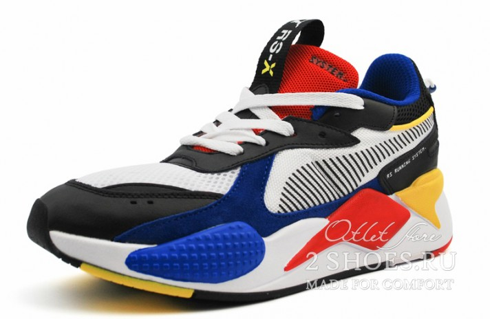 Puma RS-X Toys White Royal High Risk Red разноцветные, фото 2
