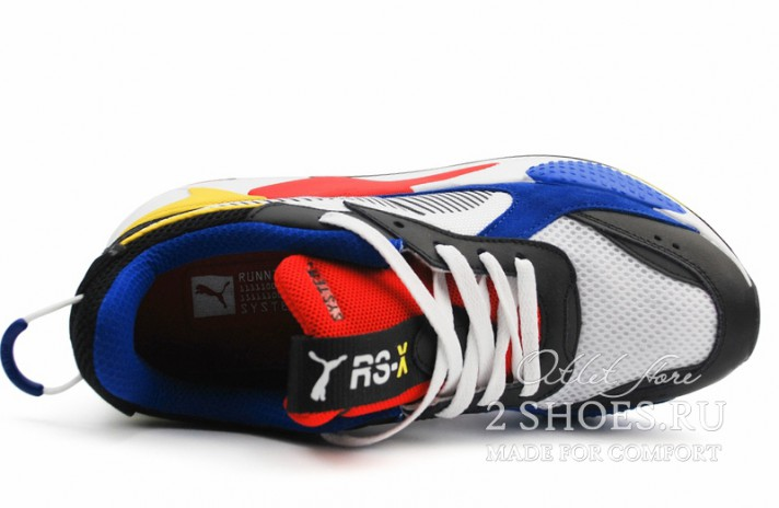 Puma RS-X Toys White Royal High Risk Red разноцветные, фото 3