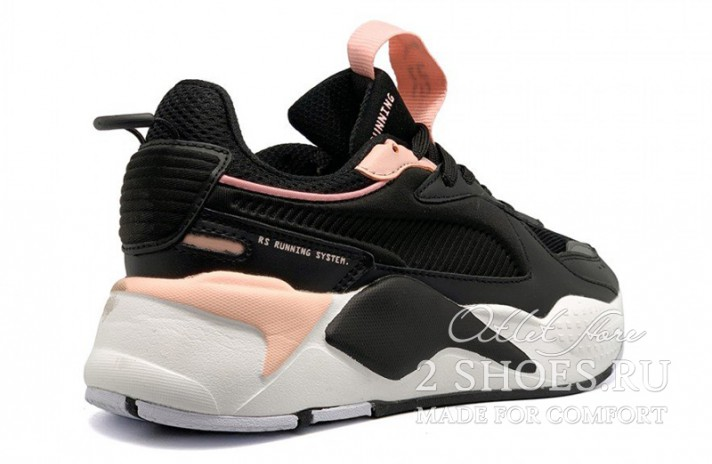 Puma RS-X Trophy Black Rose Gold черные, фото 3