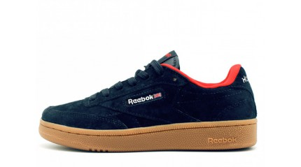 Club КРОССОВКИ МУЖСКИЕ<br/> REEBOK CLUB C85 BLUE DARK SUEDE