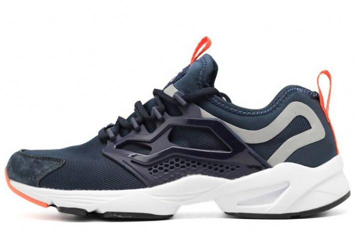 Купить Reebok Fury Adapt Dark Blue Orange - темно-синие 36b1581d7ac