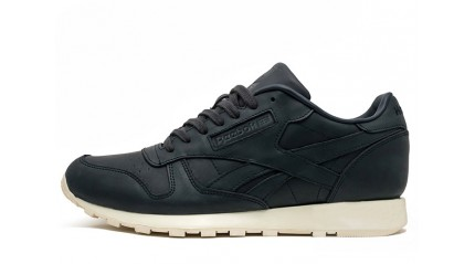 Classic КРОССОВКИ МУЖСКИЕ<br/> REEBOK CLASSIC OLD MEETS BLACK LEATHER