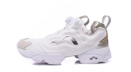 Reebok Insta pump Fury White Metallics Pack