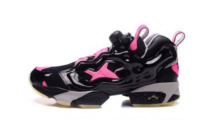Reebok Insta pump Fury Black Pink Dark Glow