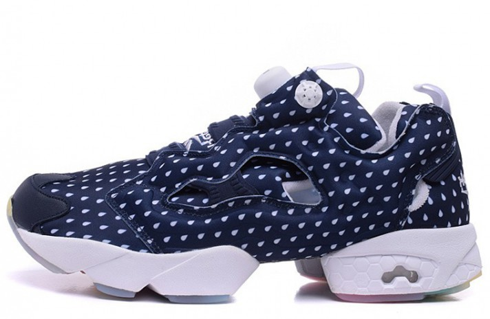 Купить Reebok Insta pump Fury Rain Drop Blue Indigo - темно-синие c81e8220100