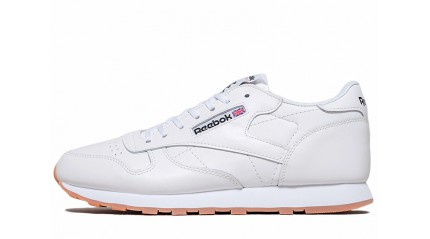 Classic КРОССОВКИ МУЖСКИЕ<br/> REEBOK CLASSIC INTENSE WHITE GUM LEATHER