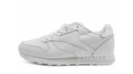Reebok Classic Leather Pure White белые кожаные