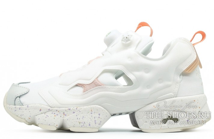 Reebok Insta pump Fury Celebrate White белые бело-кремовые 0fdbd9c2d