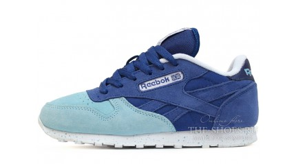 Reebok Classic Blue Turquoise