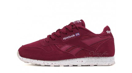 Classic КРОССОВКИ ЖЕНСКИЕ<br/> REEBOK CLASSIC SUEDE PACK BURGUNDY RED