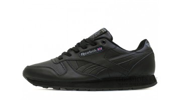 Кроссовки мужские Reebok Classic Black Winter Leather